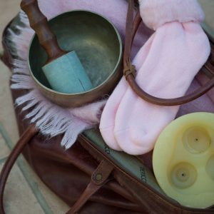 Soul Midwives kitbag packed for a visit
