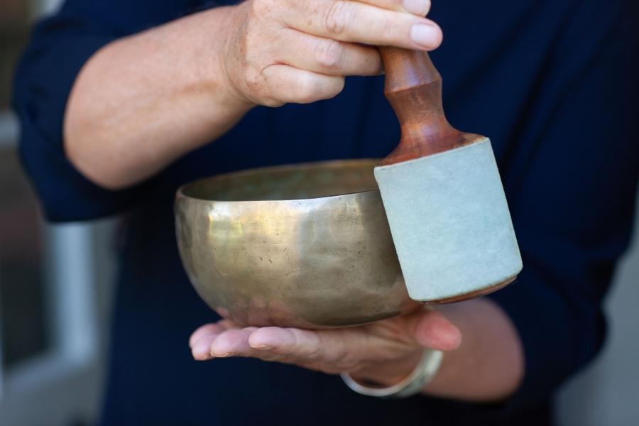 singing bowl for meditation