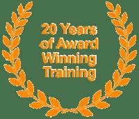 20 Years of Award Winning Training